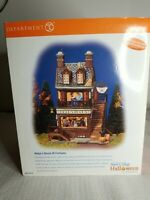 Dept 56 Helgas House of Fortunes Snow Village Halloween sounds lights 56.55316