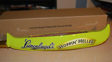 Leinenkugel Leinie's Hoppin' Helles Tall Canoe Keg Bar Tap Handle NEW IN BOX