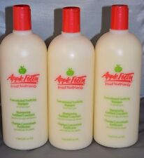 Apple Pectin Fruit Nutrients Concentrated Fortifying Shampoo  33.8oz  - 3 Pack