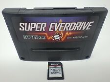 Super Everdrive DSP V2 SNES Super Nintendo SFC Famicom Flash Cart 16 GB SD Card