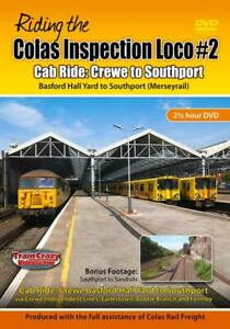 Riding the Colas Inspection Loco #2 - Cab Ride: Crewe to Southport *DVD