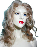 Remi Remy Glueless Full Lace Wig Blonde Mix 613 +27 Wavy Indian Human Hair Long