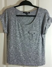 Forever 21 Women's Gray Knit Top Size Large