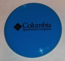 Columbia Sportswear Company Blue Frisbee Flying Disc Toy Novelty Collectible