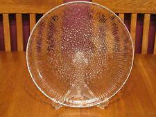 Beautiful Iittala Finland Ultima Thule Clear Glass Platter ~ Scandinavian Design