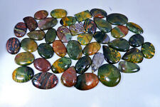 NATURAL BLOODSTONE MIX CABOCHON LOOSE GEMSTONE WHOLESALE LOT 250 TO 5000Cts. AL5