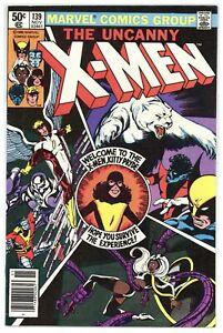 X-MEN 139 Chris Claremont & John Byrne! 1980 Marvel Comics A754