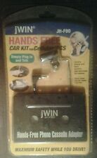 NEW Hands Free Cassette Adapter Car Kit for Cellular JH-F80 Phone or iPod Music