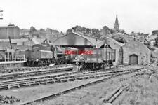 PHOTO  1954 ALSTON RAILWAY STATION GENERAL VIEW 1954 VIEW SE TO THE TERMINAL RAI