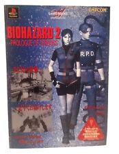 Resident 2 Biohazard 2 PROLOGUE OF TERRORS Illustrations Japanese Import RARE