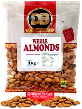 Almonds 1kg- Premium Quality Almonds, bulk almond nuts , Keto diet snacks