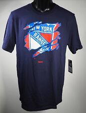 New York Rangers Reebok Official Nhl Youth T-shirt New With Tags