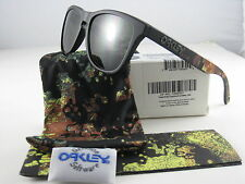 Oakley FROGSKINS Limited Edition Alpha Decay Matte Black w/Dark Grey 24-401