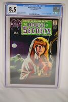 DC House of Secrets #92 CGC 8.5 Swamp Thing First App Major KEY HORROR COMIC