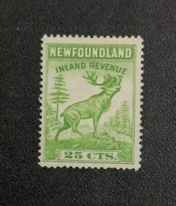 Newfoundland Revenue Stamp #NFR28 Perf 13.75 Mint Never Hinged