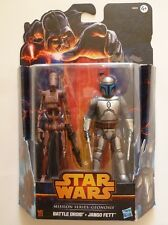 Star Wars - Moderne - Mission Series: Geonosis - Battle Droid + Jango Fett -MS03