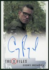 2018 X-Files Seasons 10 & 11 Cory Rempel (Young Walter Skinner) Autograph