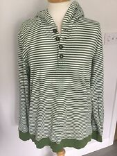 Johnnie b Boys? Long Sleeve Striped Hooded Top Size XL / Age 16+ Great Condition