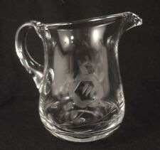 VINTAGE Gray Cut STYLIZED ROSE Patterned CREAMER / CREAM PITCHER Made in Hungary