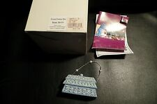 Just The Right Shoe Frosted Fantasy Box Purse 26409 1999 Raine Blue