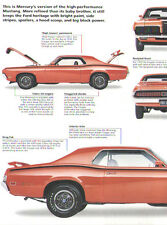 1970 Mercury Cougar Eliminator Article - Must See !!