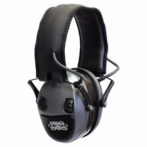 Pro Ears Silver 22 PESILVER NRR 22 Electronic Earmuff Hearing Protector, Gray