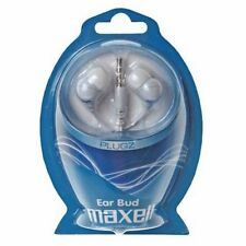 Auriculares Maxell Plugz M140 blanco