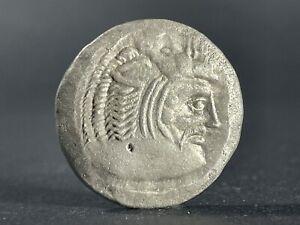 DIKAIA, THRACE AR SILVER DISTATER. CIRCA 490-480 BC - 26MM, 16.1GR