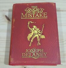 JOSEPH DELANEY THE SPOOK'S MISTAKE SIGNED DATED UK 1st PRINTING NEW & UNREAD