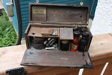Vintage Roger Ferner Machines Mechanic Paint Touch Up Set Tool Box Car Truck