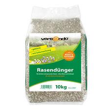 10kg Rasendünger NPK Herbstdünger 300m² sofort grüner Rasen ohne Moos & Unkraut