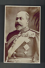 Mint RPPC Postcard King Edward VII Prince of Wales in Uniform Royalty England
