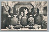"""Cabaret du Neant """"Les Spectres"""" PARIS Ghost Nightclub—Antique Occult Skeleton"""