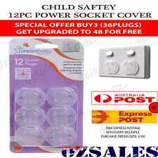 12x Baby Child Safety Power Board Covers Protective Socket Outlet Point Plug 20