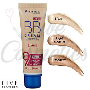 Rimmel BB Cream, 9-in-1 Lightweight Formula with Brightening Effect, 30ml