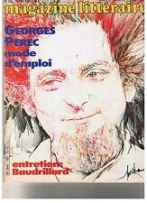Georges Perec mode d'emploi