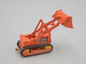 Vintage 1:87 HO Scale Unbranded 'Orange' Bulldozer - Made in Hong Kong