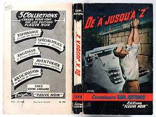 SAN-ANTONIO n°273 # DE A JUSQU'A Z # EO 1961