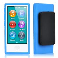 TRIXES TPU Clip Gel Case for New Apple iPod Nano 7th Generation Cover Shell