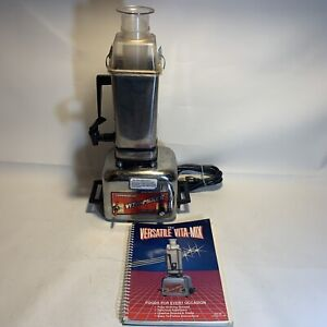 Vitamix Commercial Vita-Mixer Maxi-4000 Stainless Steel Blender TESTED READ