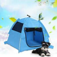 Portable Cat Dog Large House Puppy Cave Pet Sleeping Warm Bed Mat Pad Nest Tent