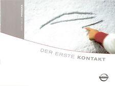 Prospekt / Brochure Nissan Primera 08/2001