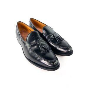 Allen Edmonds Pembrooke Black Leather Loafer Dress Shoes Size 11 D