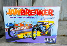 "Mpc ""Jawbreaker"" Wild Rail Dragster Front Engine 1:25Th Scale Plastic Model Kit"