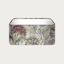 Rounded Rectangle Voyage Hedgerow Countryside Floral Flowers Fabric Lampshade