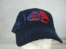 Ball Cap, Indian Design, Bear Paw, Navy Blue