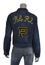 c786c970d3 Womens Polo Ralph Lauren Distressed Trucker Patchwork Jean Jacket  5k