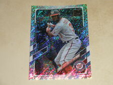 MICHAEL TAYLOR 2021 TOPPS SERIES 1 #306 FOILBOARD PARALLEL #328/790 NATIONALS