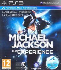 MICHAEL JACKSON THE EXPERIENCE PS3 SONY PLAYSTATION 3 NUOVO SIGILLATO ITALIANO