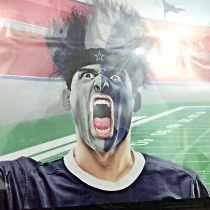 NFL Dallas Cowboys-Fuzz Head Bleacher Wig-Free Shipping